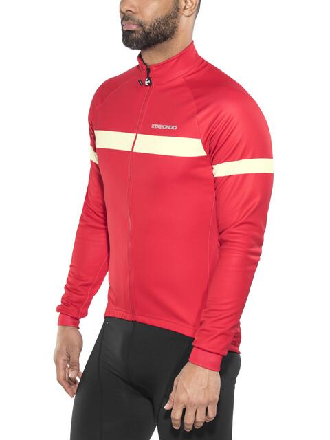 Etxeondo Artu Windstopper Jacket Men Red-Beige